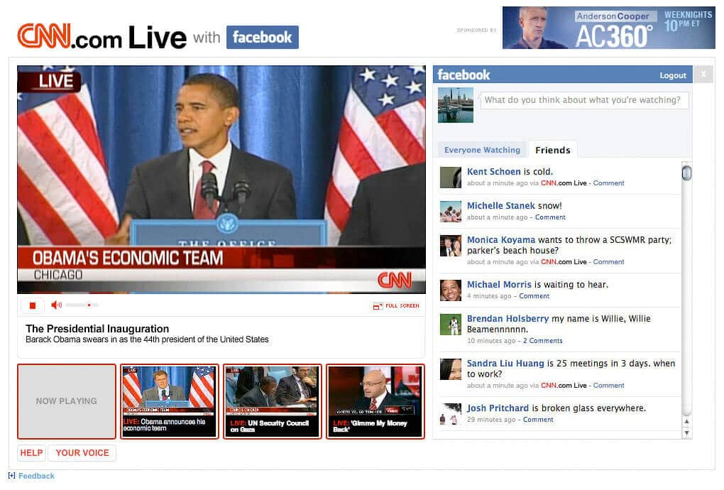 cnn facebook live web screen capture