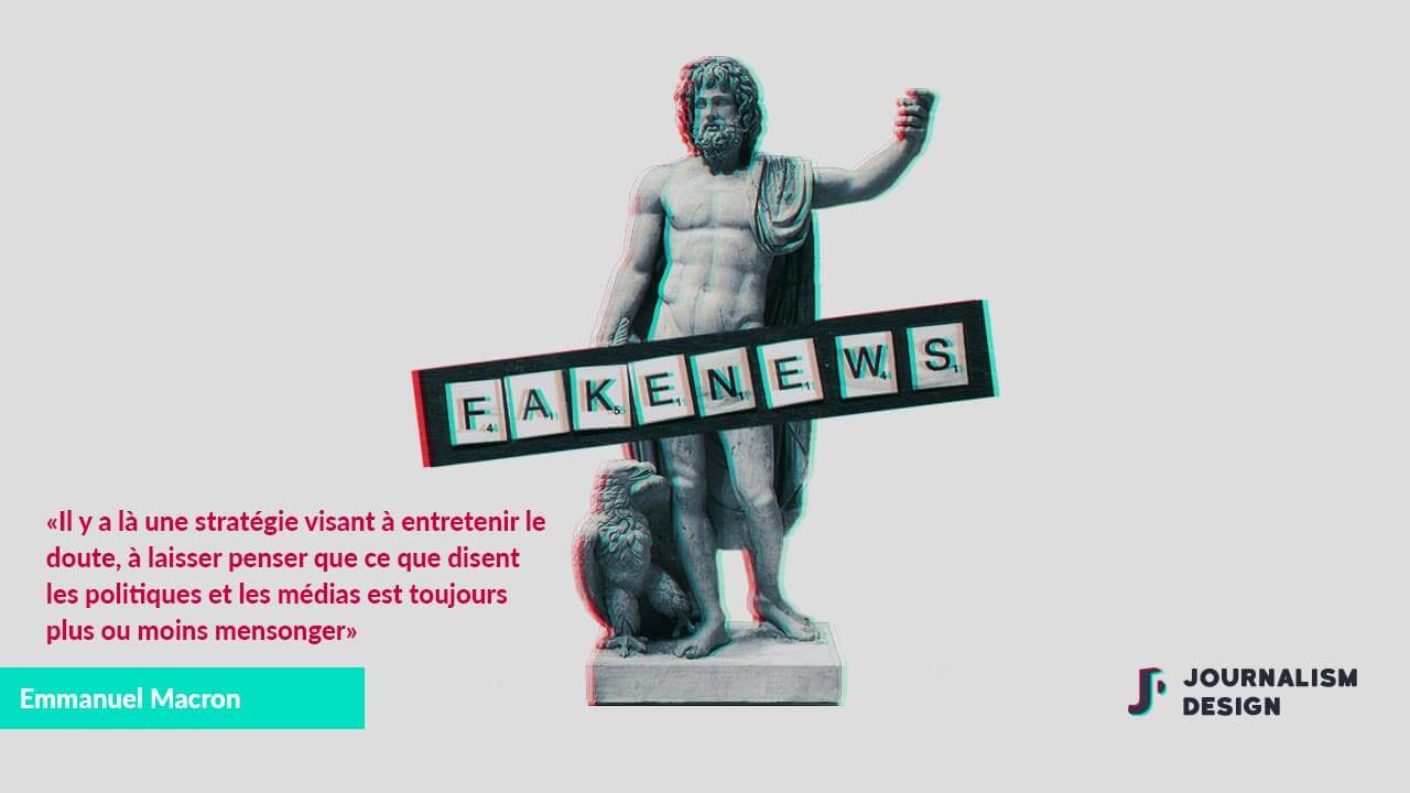 Illustration - Jupiter et les Fake News