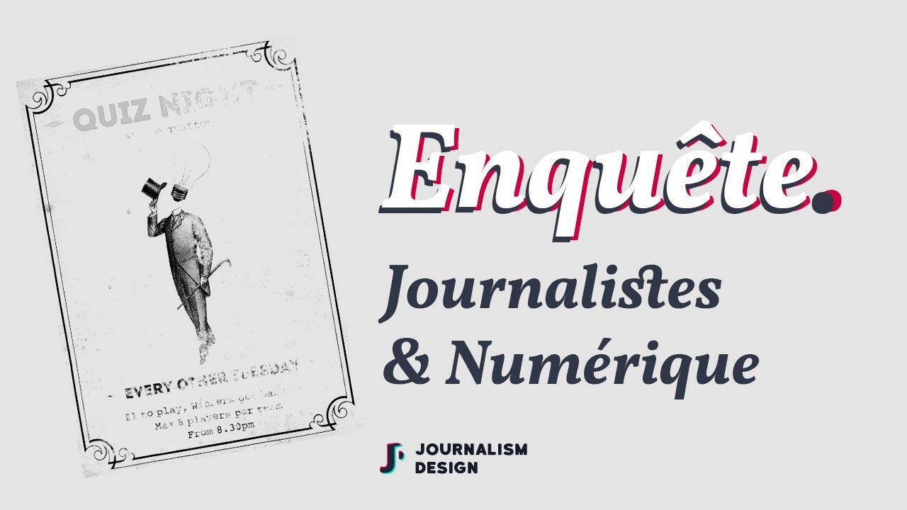 Illustration - Journalistes et numérique