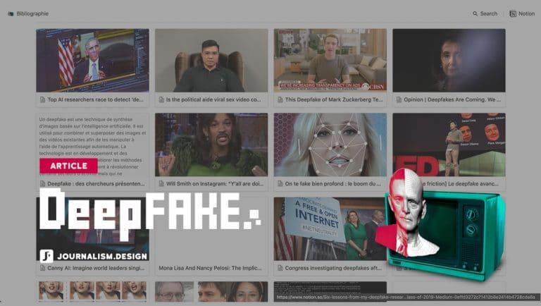 Médias de synthèse et Deepfakes, bibliographie