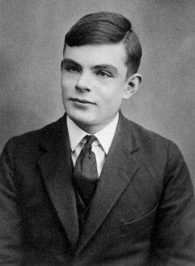 Portrait d'Alan Turing à l'age de 16 ans