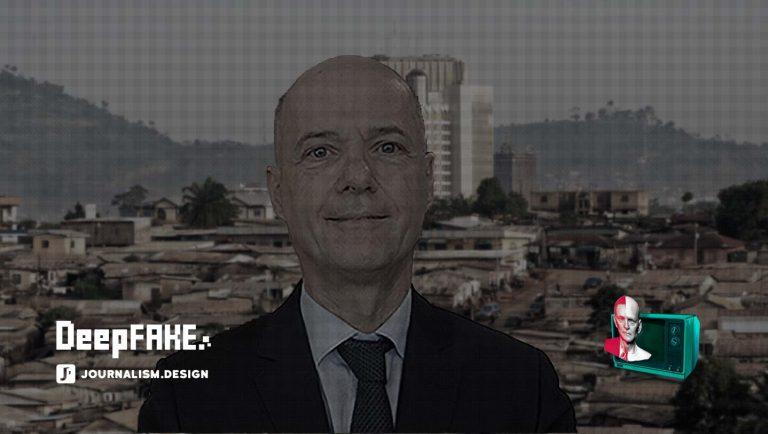 Le deepfake de Christophe Guilhou, embarrasse au cameroun