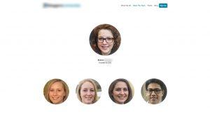 Exemple d'entreprise dont tous les salariés sont des deepfakes