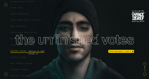 "Le site ""Unfinished votes"" reprend le portrait de Joaquin Oliver"