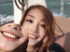 le deepfake @azusagakuyuki montre quelques problèmes d'alignement avec le visage de Zonggu