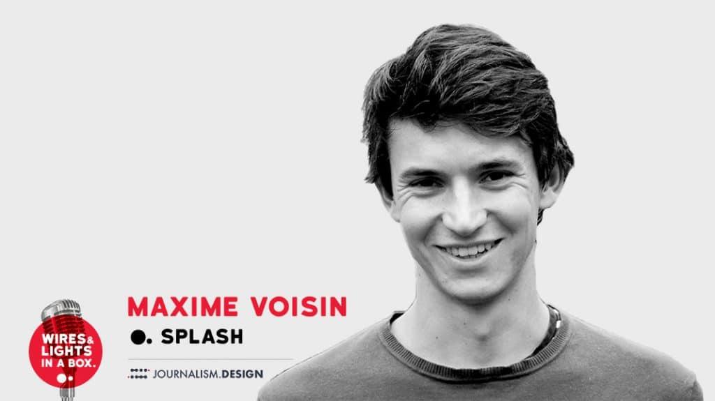 Maxime Voisin fondateur de l'application Splash actu