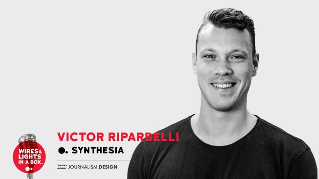 Victor Riparbelli, ceo of synthesia