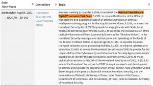 National Deepfake and Digital Provenance Task Force
