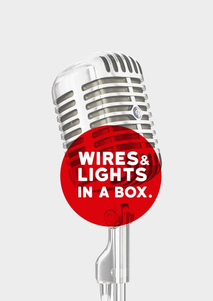 Wires and Lights in a Box